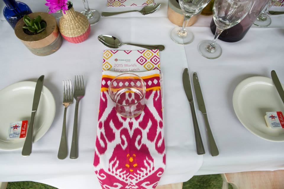 4 boho napkin longest lunch