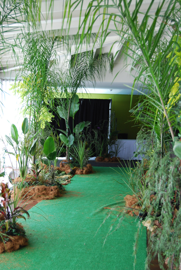 New Year Celebrations Jungle Theme Animal Print Corporate Event Management