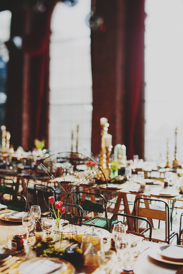 Australian Vintage Carnival Reception  Real Wedding The Substation Styling