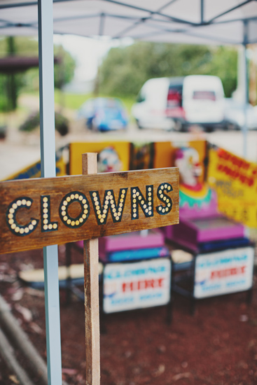 Australian Vintage Carnival Games Clowns Newport Railway Wedding Guest Entertainment