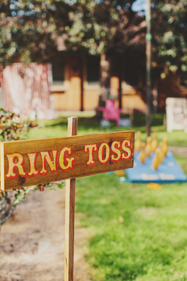 Australian Vintage Carnival Games ring toss Newport Railway Wedding Guest Entertainment