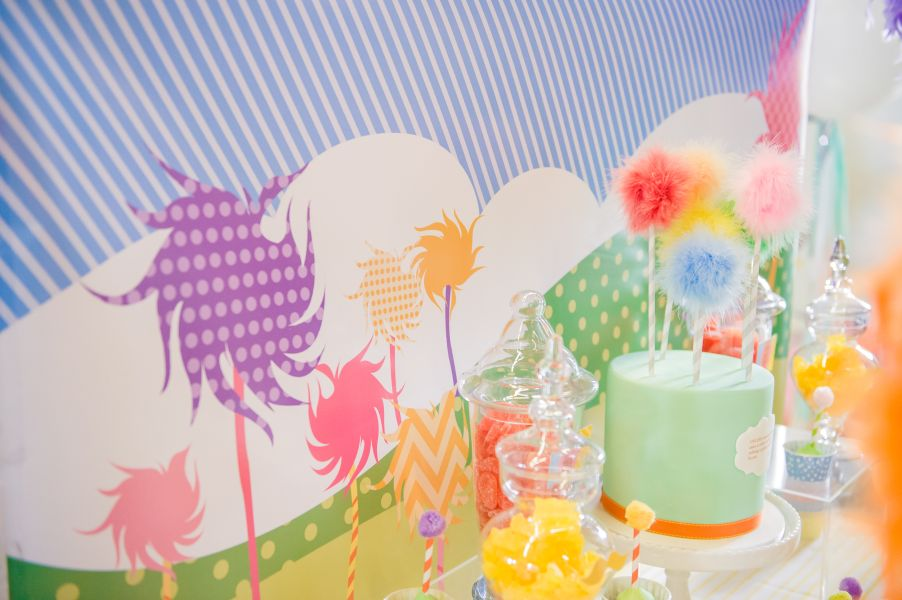 The Lorax Girls 1st Birthday Party. Party Planning Geelong (21)