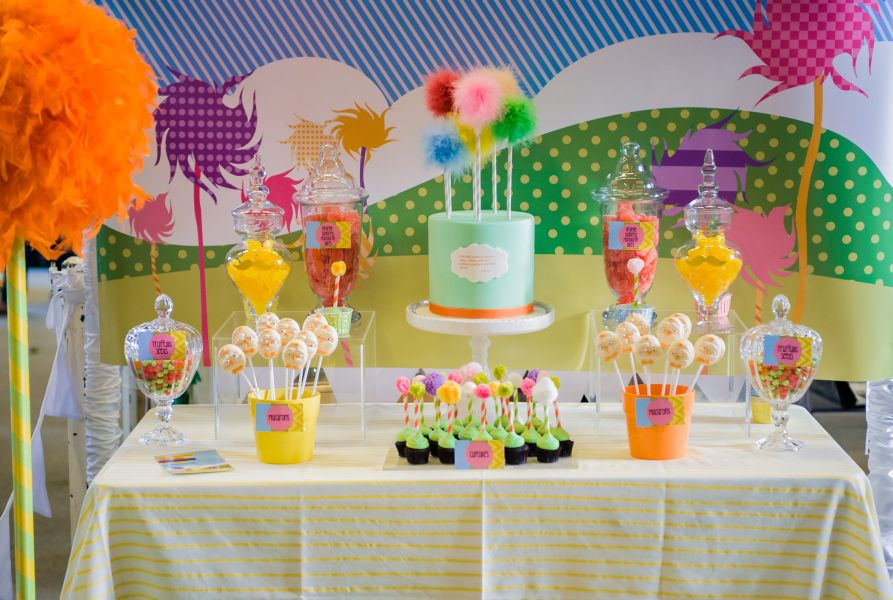 The Lorax Girls 1st Birthday Party. Party Planning Geelong (22)