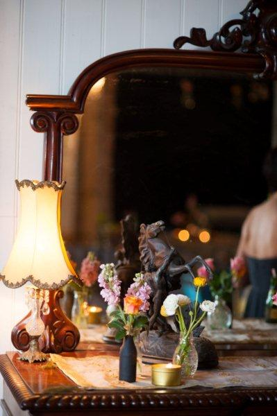Rustic Barn Wedding Lanterns Festoon Lights Chandeliers (23)