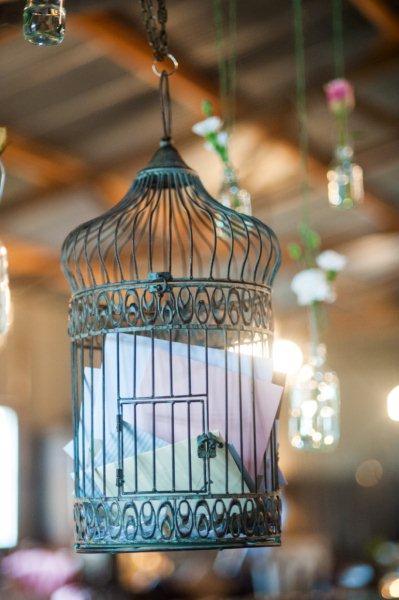 Rustic Barn Wedding Lanterns Festoon Lights Chandeliers (29)