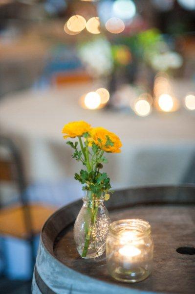 Rustic Barn Wedding Lanterns Festoon Lights Chandeliers (30)
