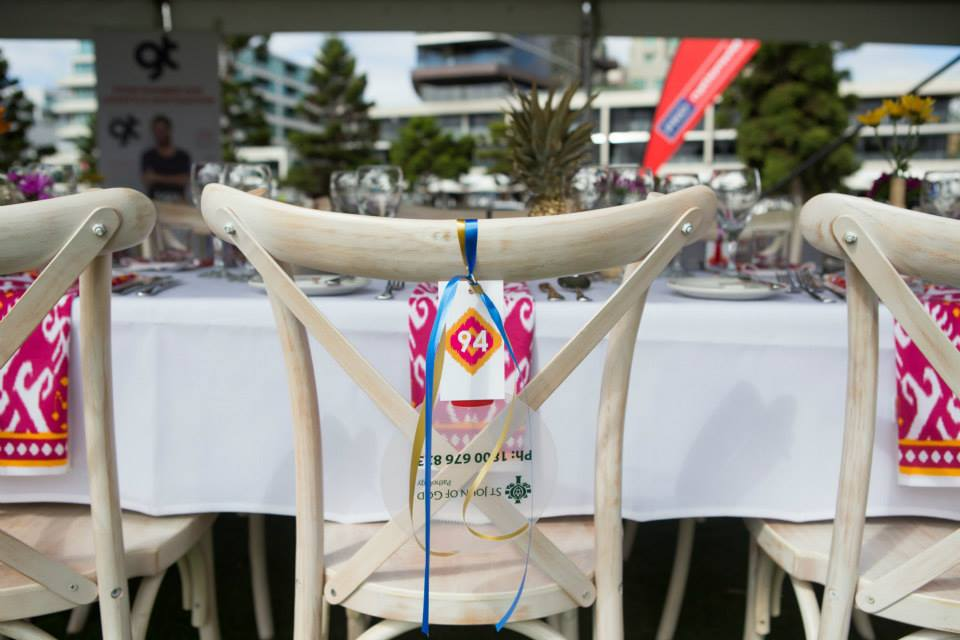 7 table numbers worlds longest lunch igby napkin