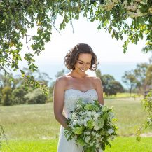 botanical wedding natural styling glamour terindah estate